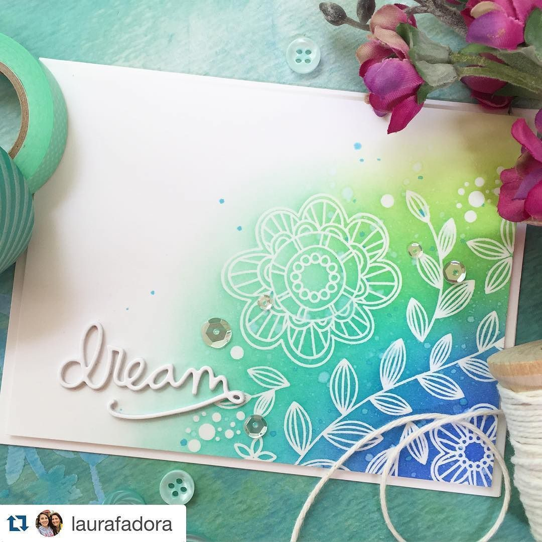 """#Repost @laurafadora with @repostapp.  Gorgeous new """"Look for the Miracles"""" June card kit by @simonsaysstamp #simonsaysstamp #sssck by simonsaysstamp"""