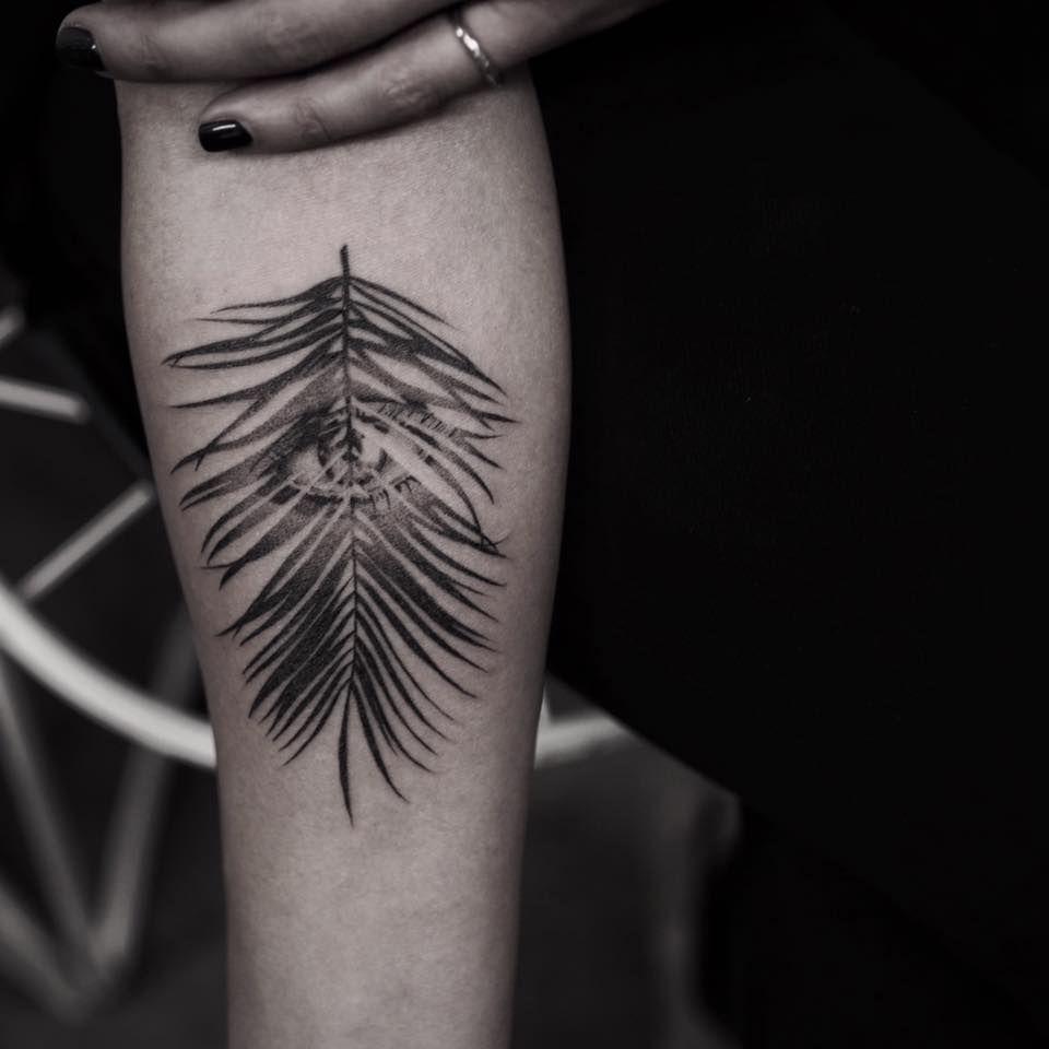 Eye Feather tattoo Balazs Bercsenyi