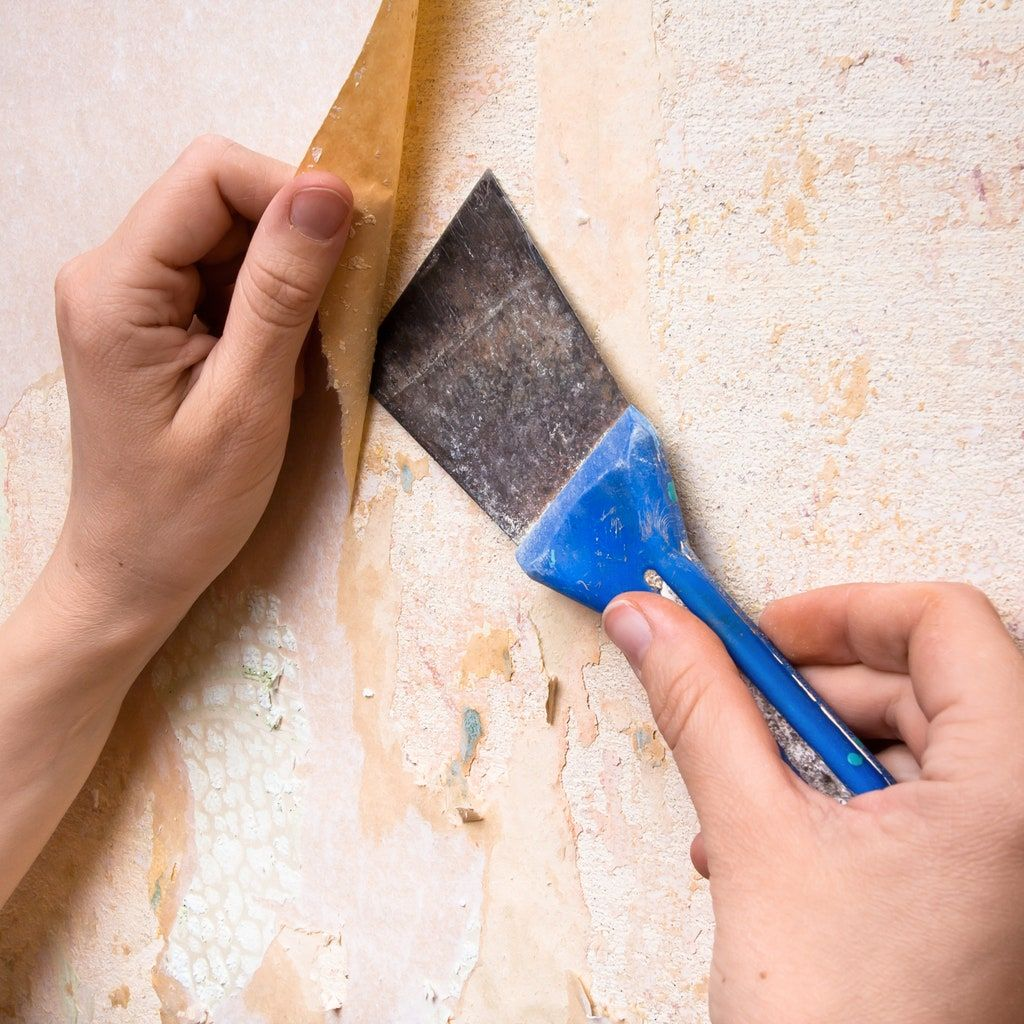 Here's the Trick to Removing Wallpaper Glue in 2020 ...