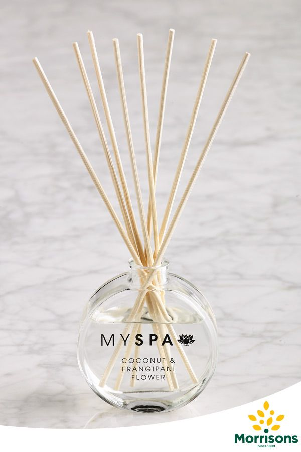 Morrisons My Spa Fragrance Reed Diffuser Coconut