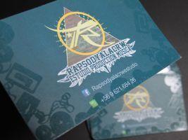 Rapsodya (tarjetas de presentacion) by Sickguan