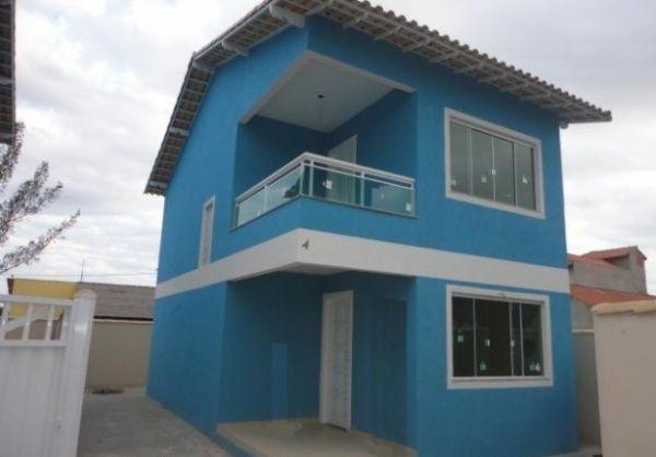 Fachada celeste pinterest tonos de azul fachadas y azul for Ideas para pintar mi casa exterior