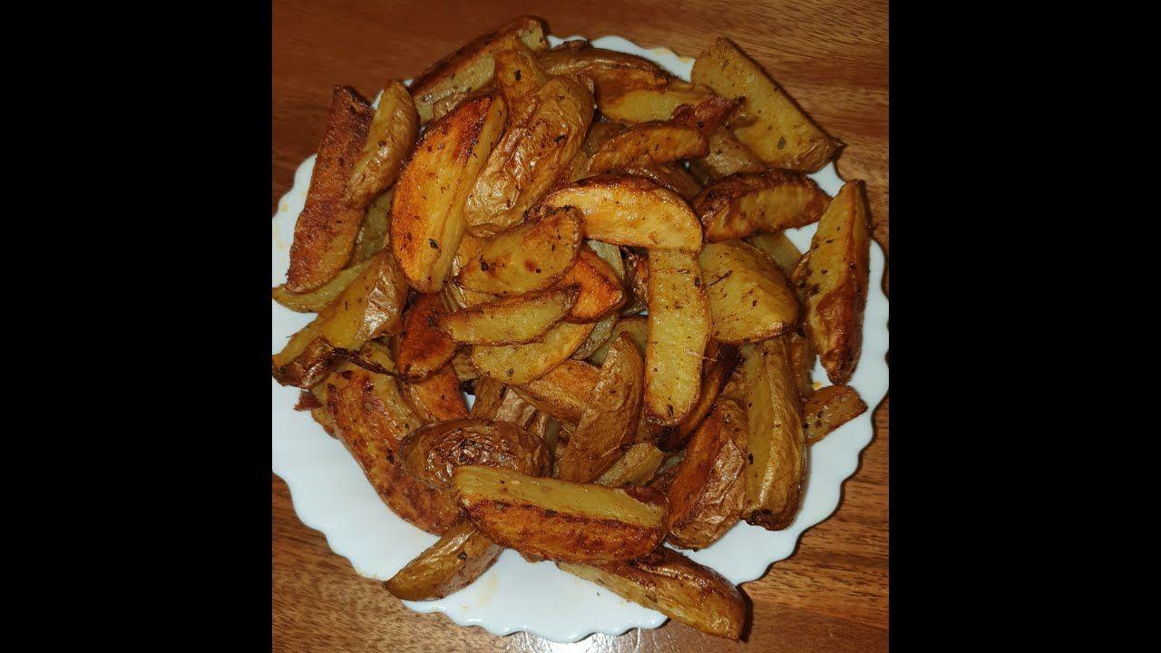 طريقة تحضير افضل بطاطس ودجز بالفرن سريعة صحية وسهلة Best Potato Wedges Easy Healthy And Fast Youtube Food Bacon Breakfast