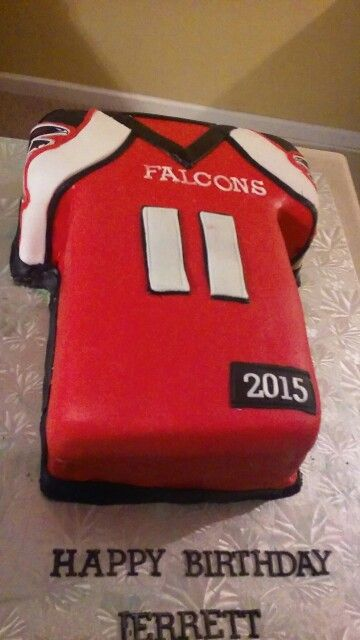 Julio Jones Atlanta Falcons Cake