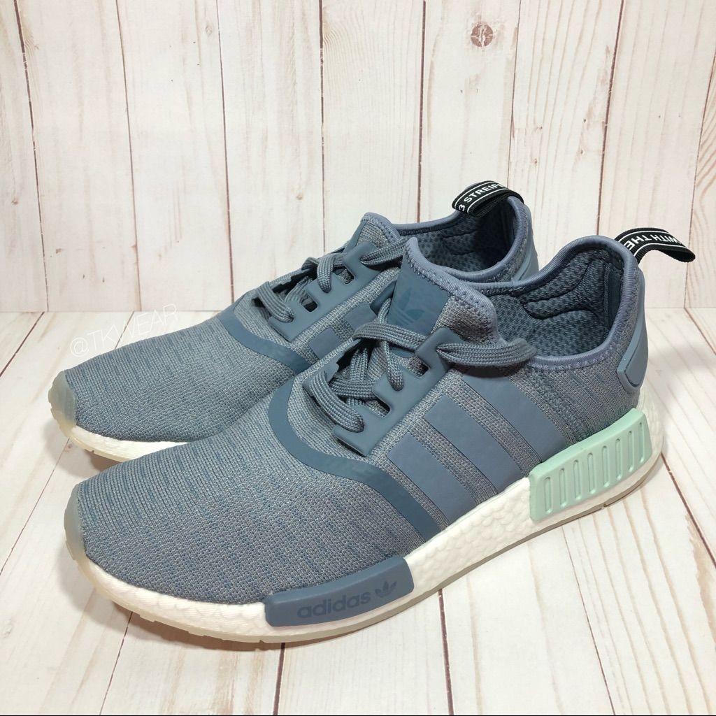 Adidas NMD R1 daherrens Blue schuhes Clearance