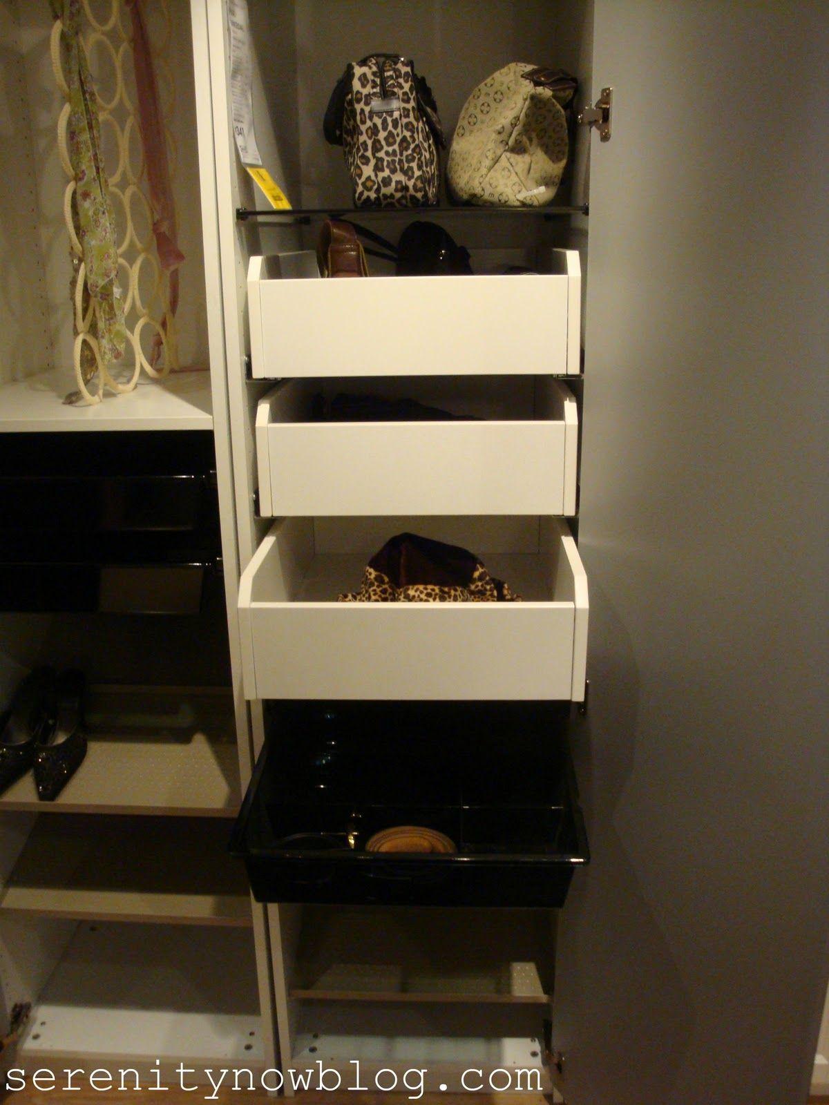 12++ Ikea closet organizer drawers ideas