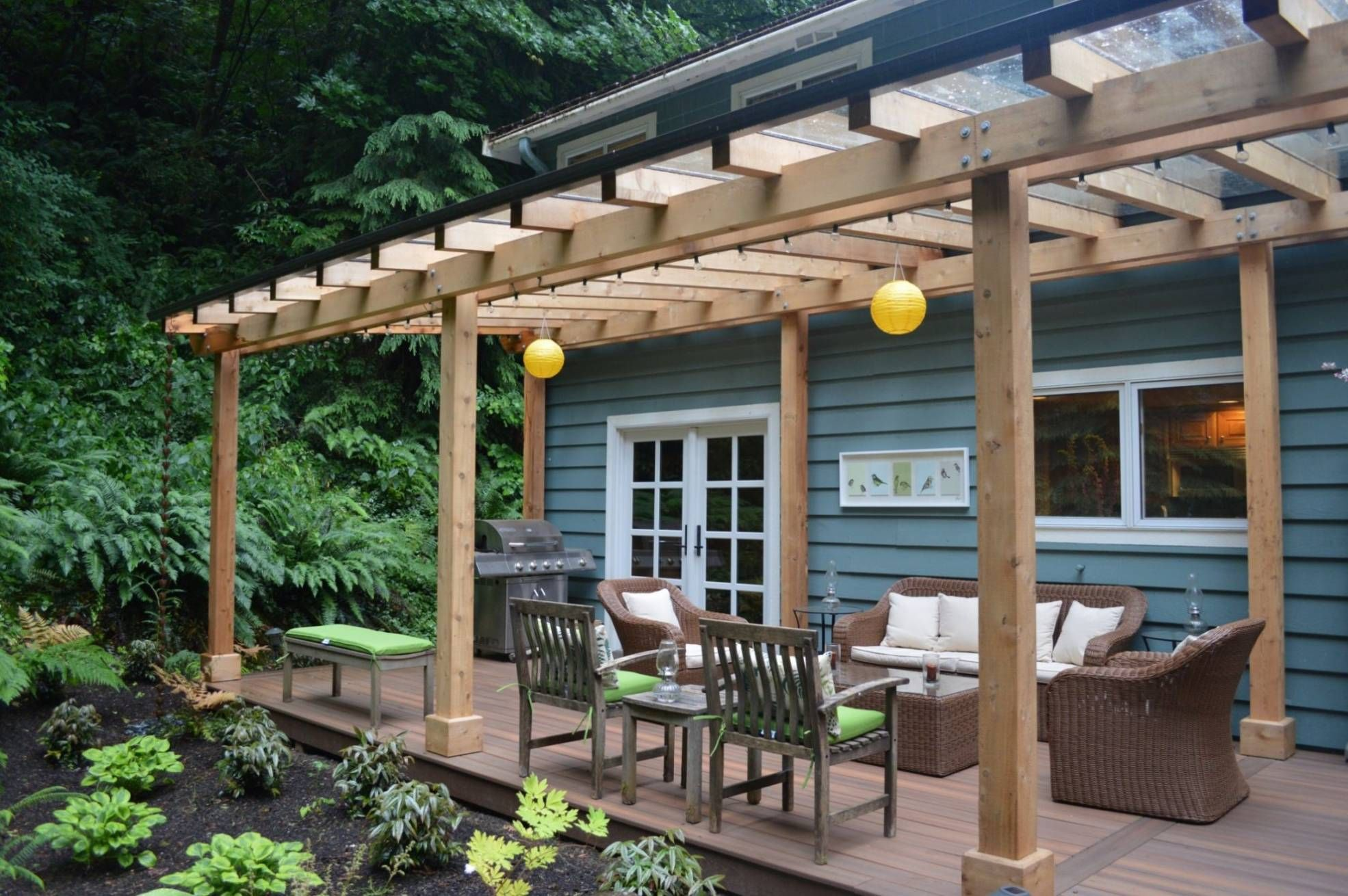 Want A Covered Deck Or Partially Covered Deck Check Out Our Amazing Photo Gallery Featuring 50 Amazing And Diver Building A Deck Covered Decks Decks Backyard