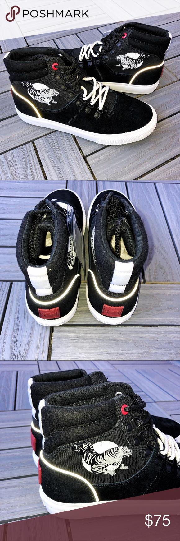NWT - Mens Bucketfeet Tiger Sneakers