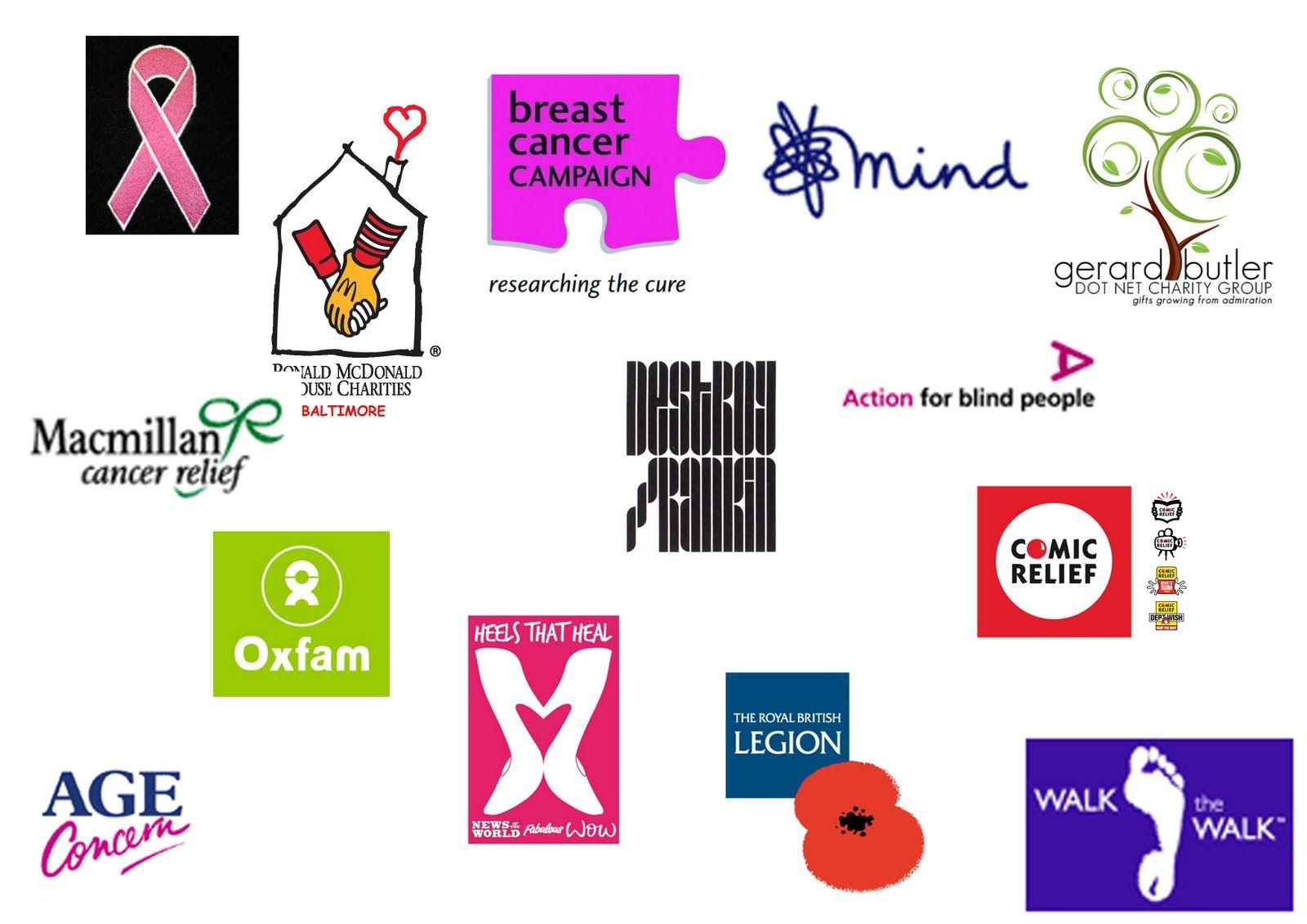charity logos misc project inspiration pinterest logos