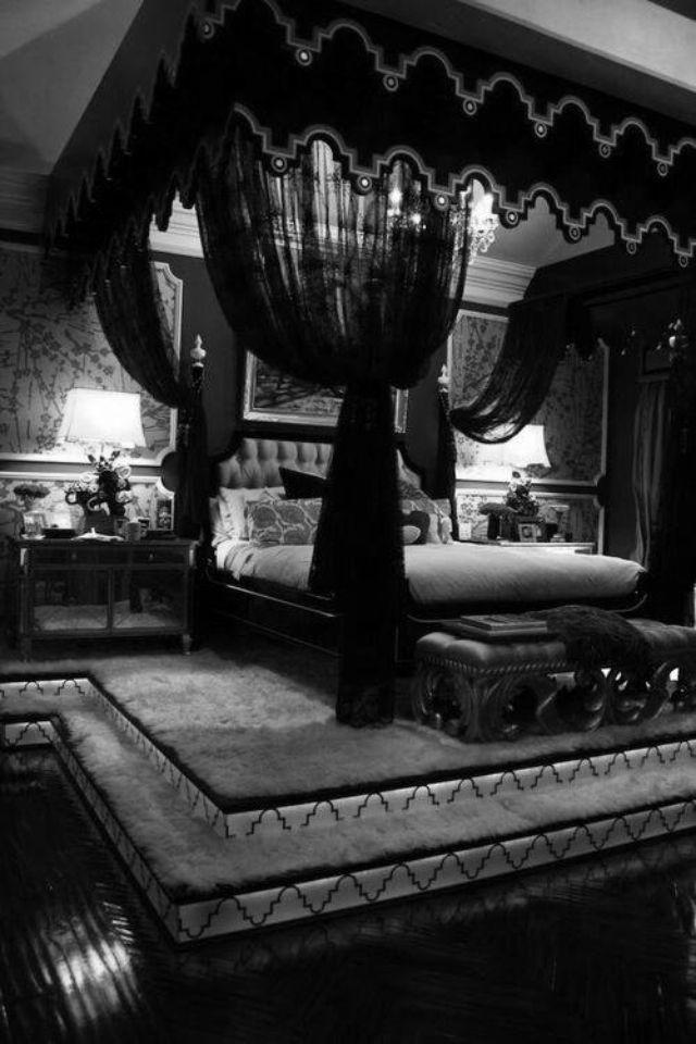 Gothic bedroom & Gothic bedroom | stuff i like | Pinterest | Gothic bedroom Gothic ...