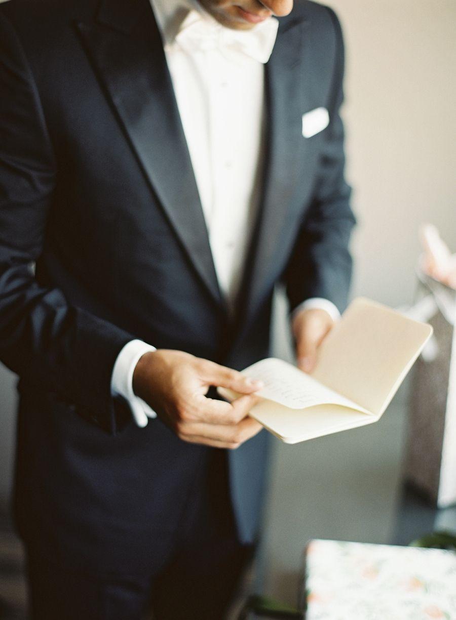 Photography : Vicki Grafton Photography   Grooms Attire : Suit Supply Read More on SMP: http://www.stylemepretty.com/2016/01/05/classic-washington-dc-ballroom-wedding/