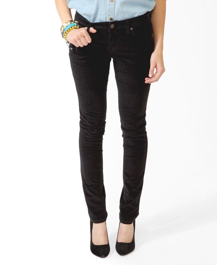 $25 Skinny Corduroy Pants   FOREVER21 - 2000022982