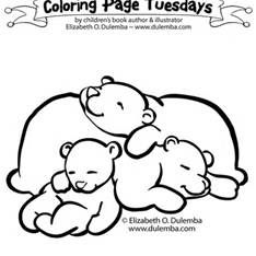 Hibernating Bear Template Hibernating Bear Craft Bear Coloring Pages Animals That Hibernate