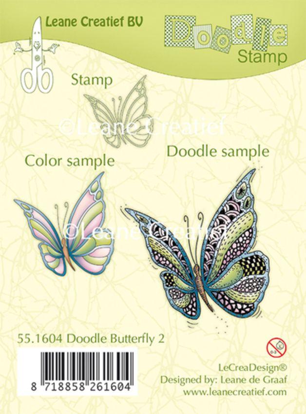 ClearStamp / Stempel - Schmetterling