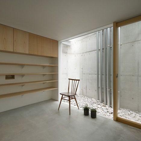 Slaapkamer achter atelier