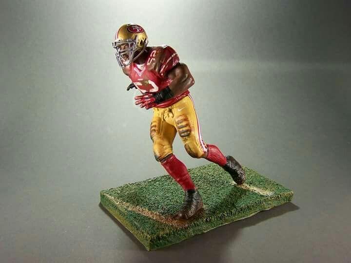 "Patrick Willis San Francisco 49ers Jersey Custom 6/"" Mcfarlane Figure"