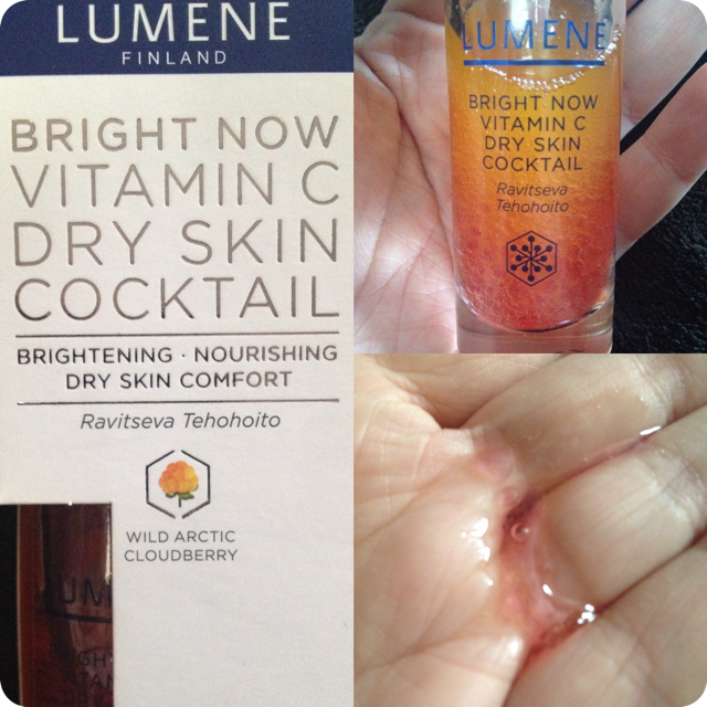 lumene vitamin c serum review