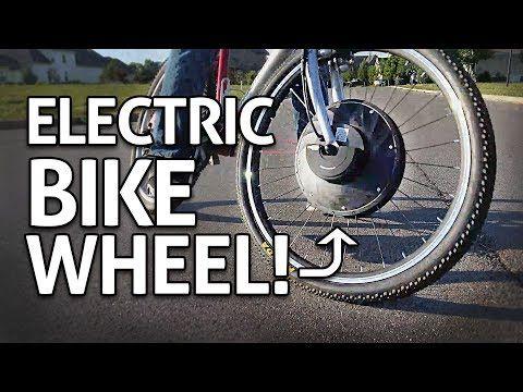Motorized Wheel Conversion Kit Review You Electric Bike