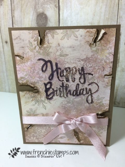 Mother Of Pearl With Wink Of Stella Birthday Cards Pinterest