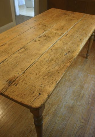 Antique Harvest Dining Table $1200