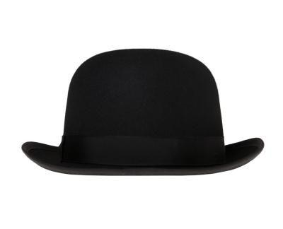 570750ea1b3 How to Make a Floppy Wool Brim Stiff Charlie Chaplin Costume