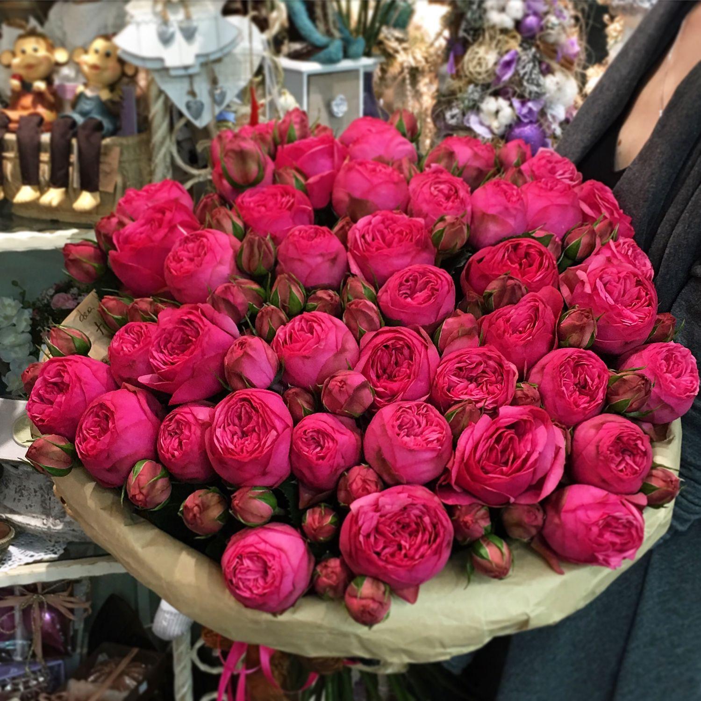 красивый букет цветов огромный