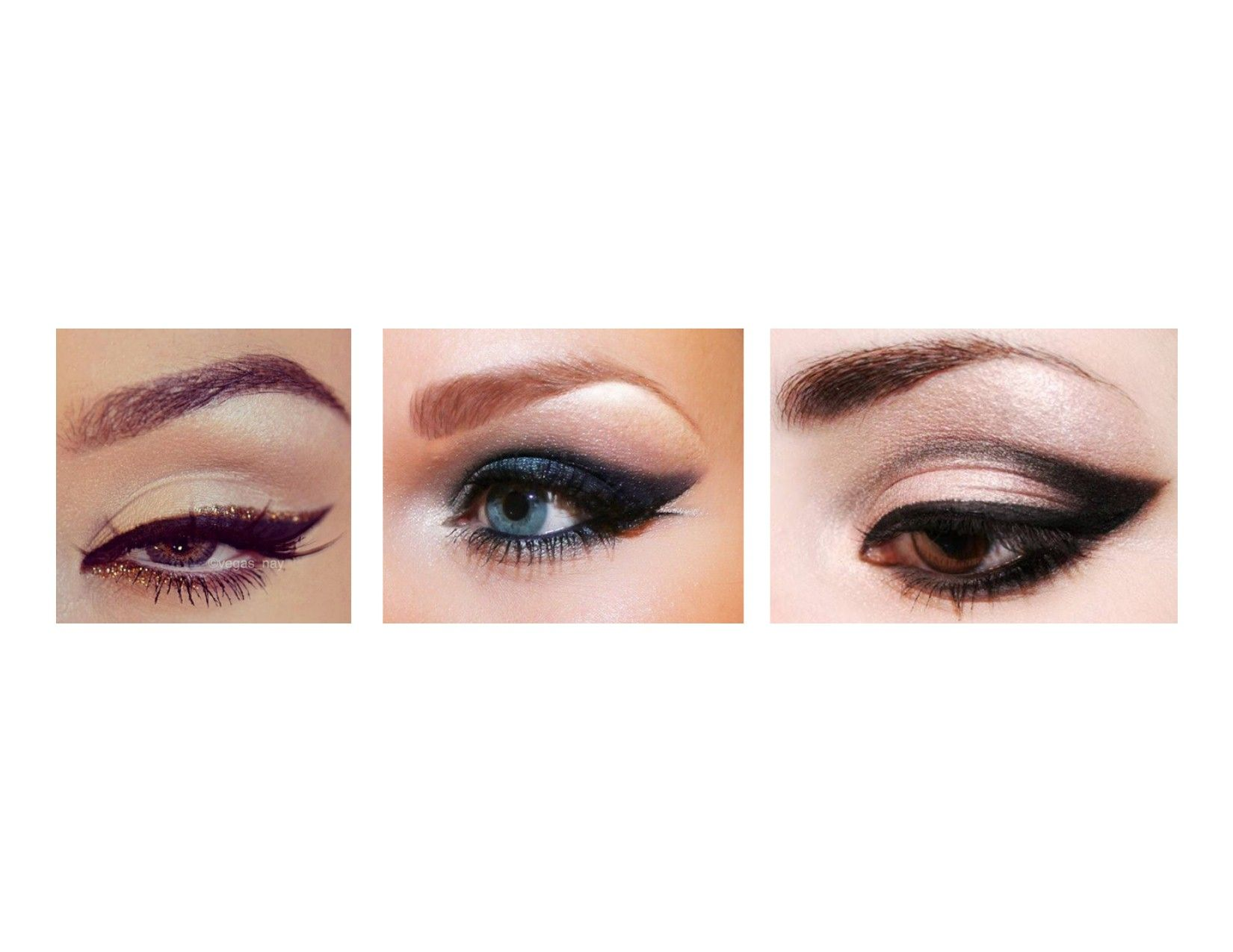 A fabulous fit MUST be accompanied by fabulous makeup...check out this eye-candy!!!