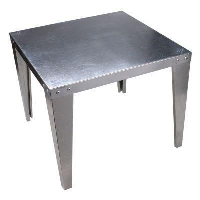 Great Side Table Galvanized Steel Hot Water Heater Stand Inexpensive Novas Ideias Ideias