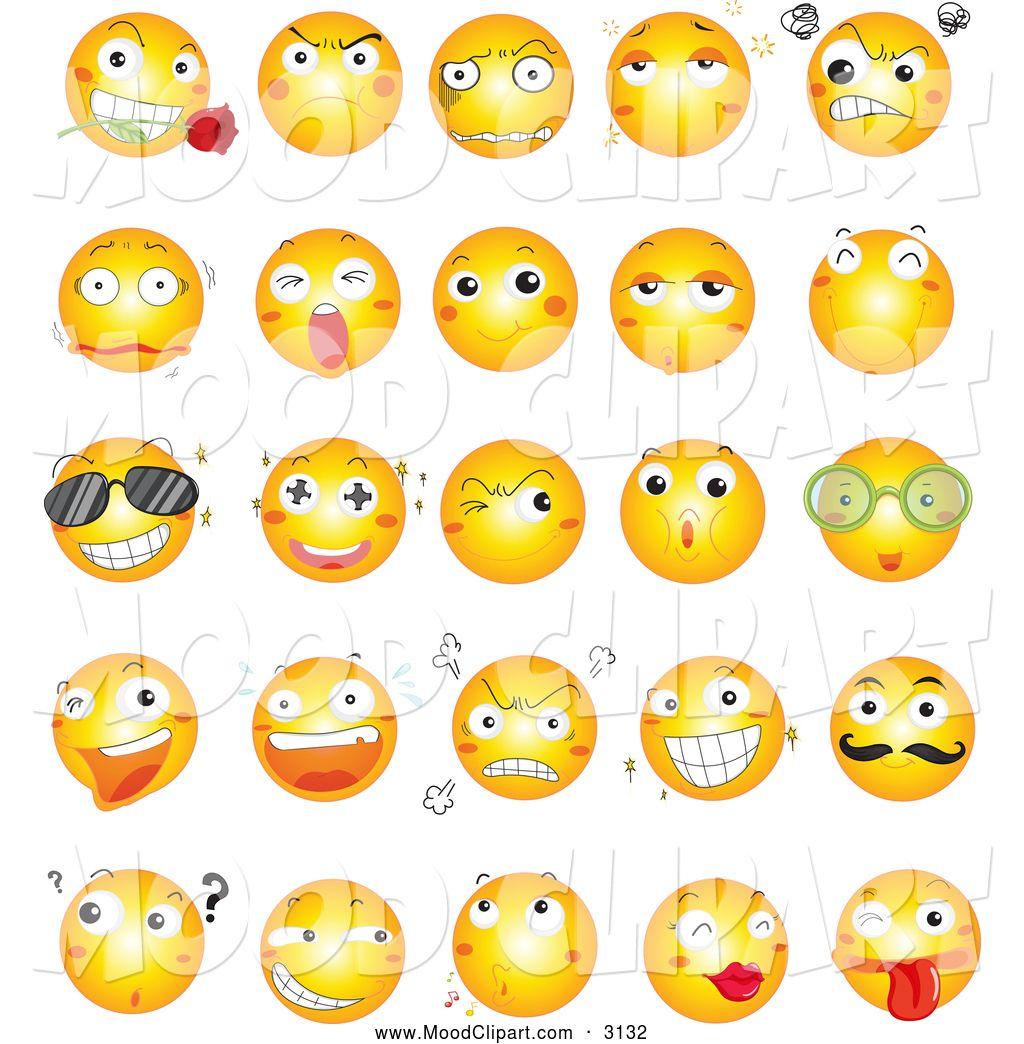 Anxious Face Clipart | SMILEY | Pinterest | Faces