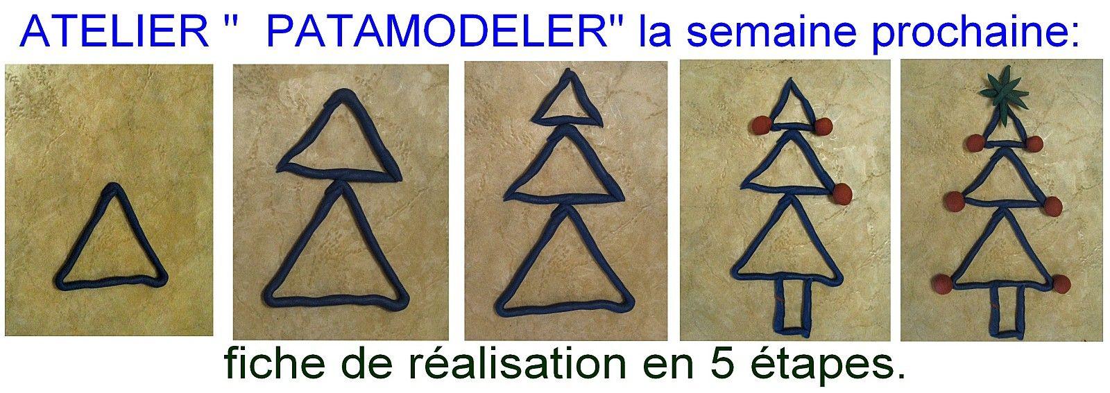 """Atelier de """"Noël"""" avec la pate à modeler   Pate a modeler, Noel maternelle, Noel"""