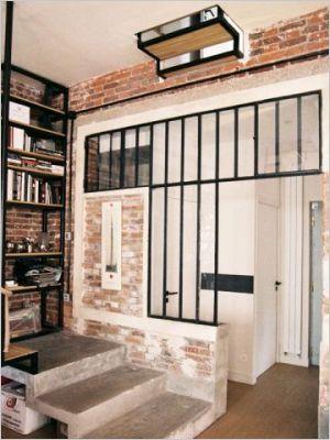 Un ancien atelier transformé en maison de famille Murs de briques - Prix Gros Oeuvre Maison