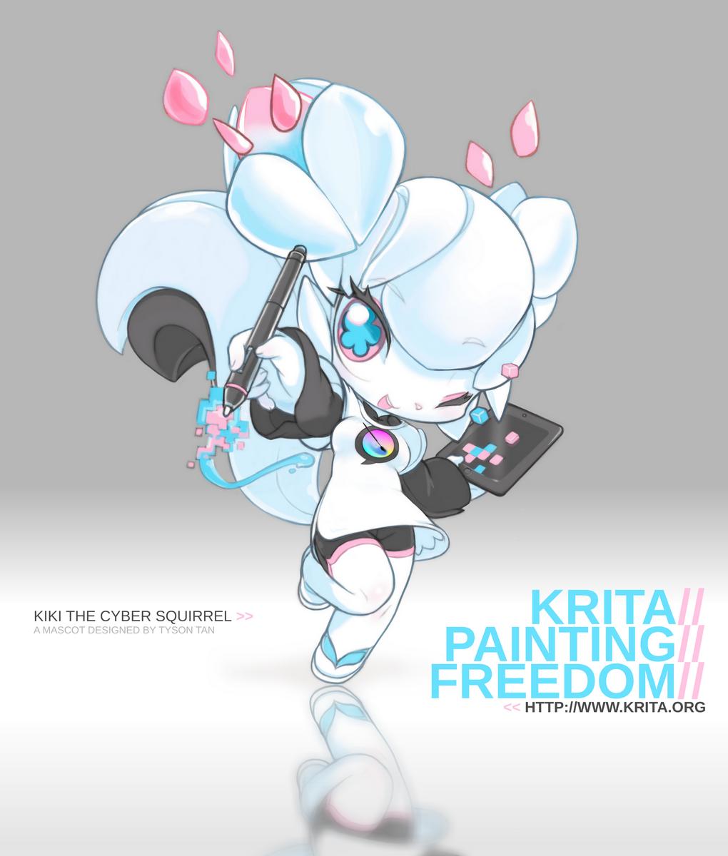 Tyson Tan (钛山) — Krita Free Painting App Tutorial