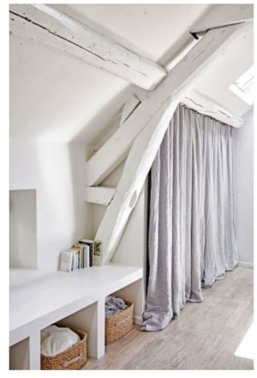 attic organisation idea