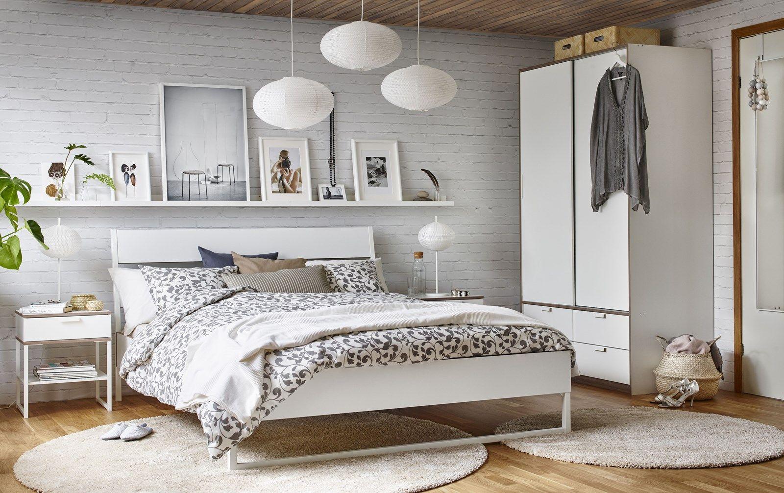 Sypialnia W Stylu Skandynawskim Ikea