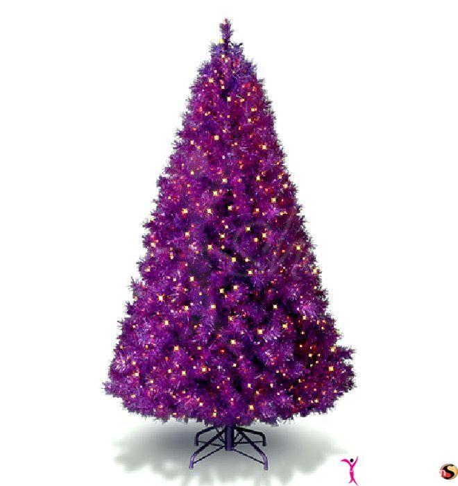 lavender Christmas home decors christmas tree purple christmas - christmas decors