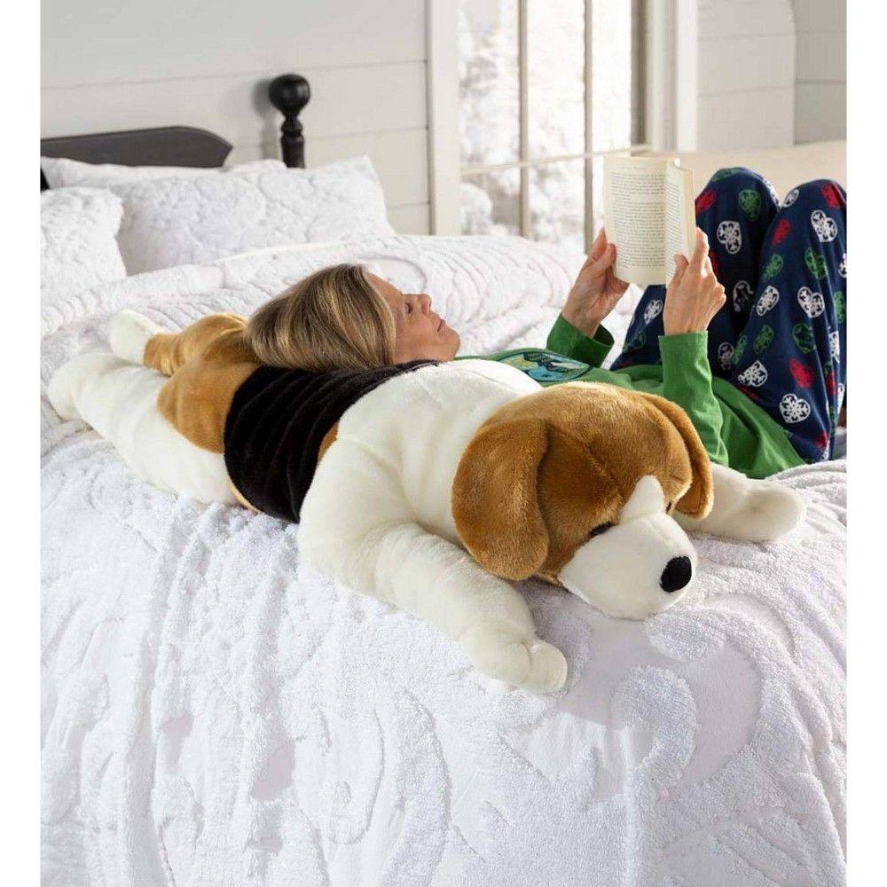 Beagle Plush Oversized Body Pillow Plow Hearth In 2020 Kids