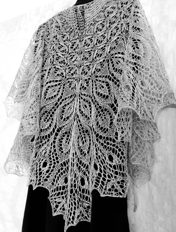 Pin on Shawl knitting patterns