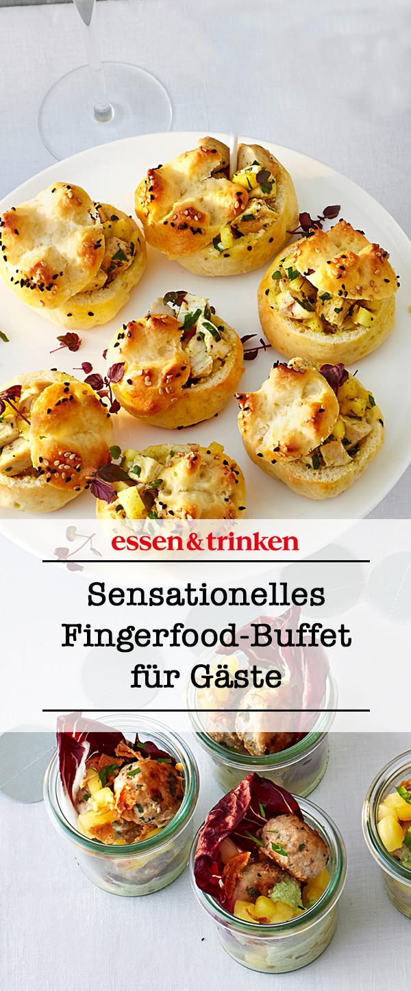 Fingerfood für Gäste #fingerfoodrezepteschnelleinfach