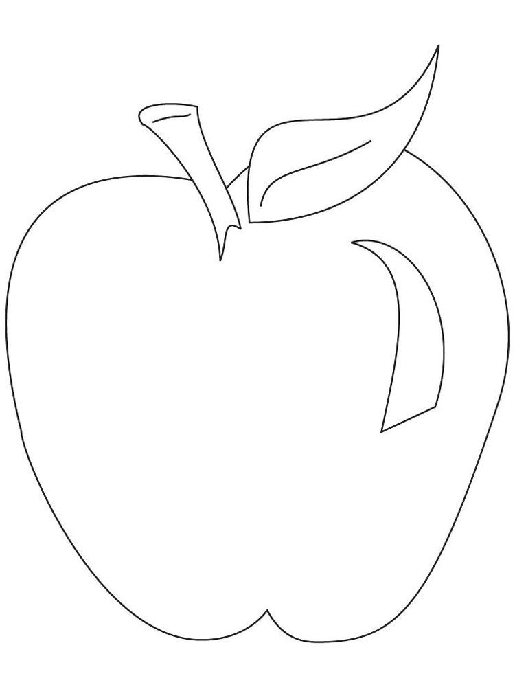 New Apple Coloring Pages Apples Are One Of The Fruits That Many