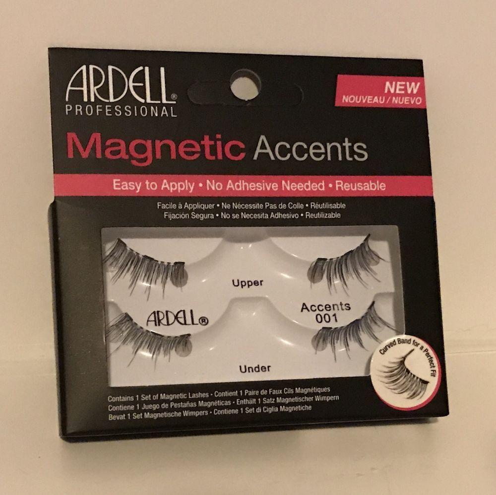 3de402f9495 Magnetic Lashes Ardell Magnetic Lash Accent 001 false eye lashes | eBay
