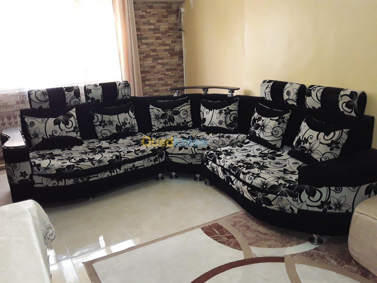 بيع الصالونات Salon Panoramique 3 Pieces 5 Places In 2020 Home Home Decor Sectional Couch