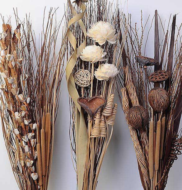 Ideas Para La Decoracion Con Flores Y Hojas Secas Audaces Ideas - Decorar-con-flores-secas