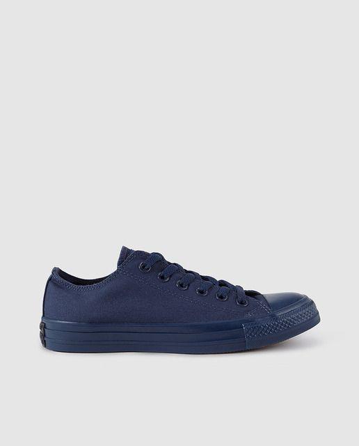 3700096d4 Zapatillas de lona de mujer Converse azules