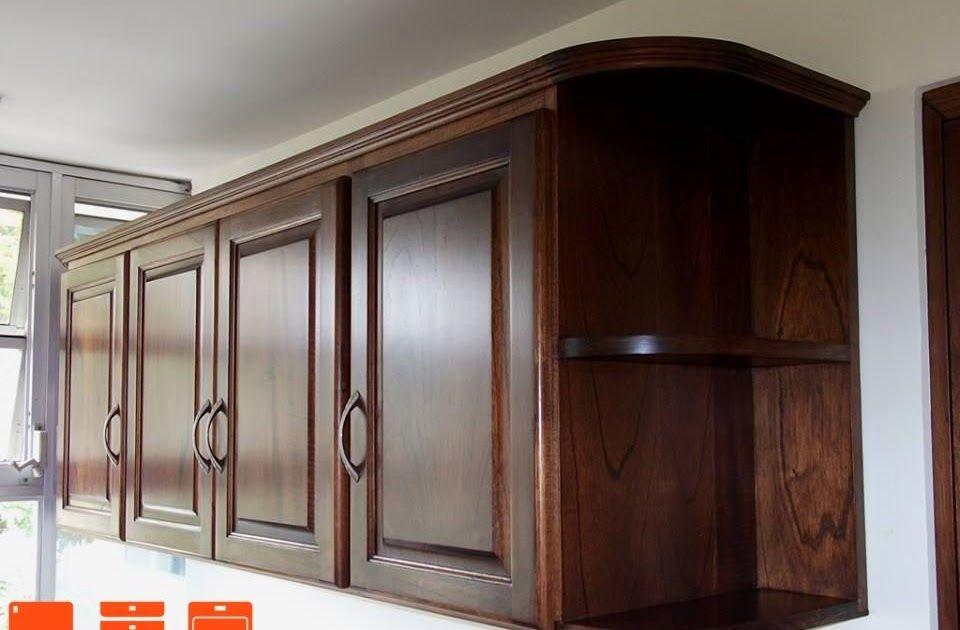 Madera Gabinetes De Cocina Aereos En 2020 Gabinetes Cocina Muebles Aereos De Cocina Muebles De Cocina