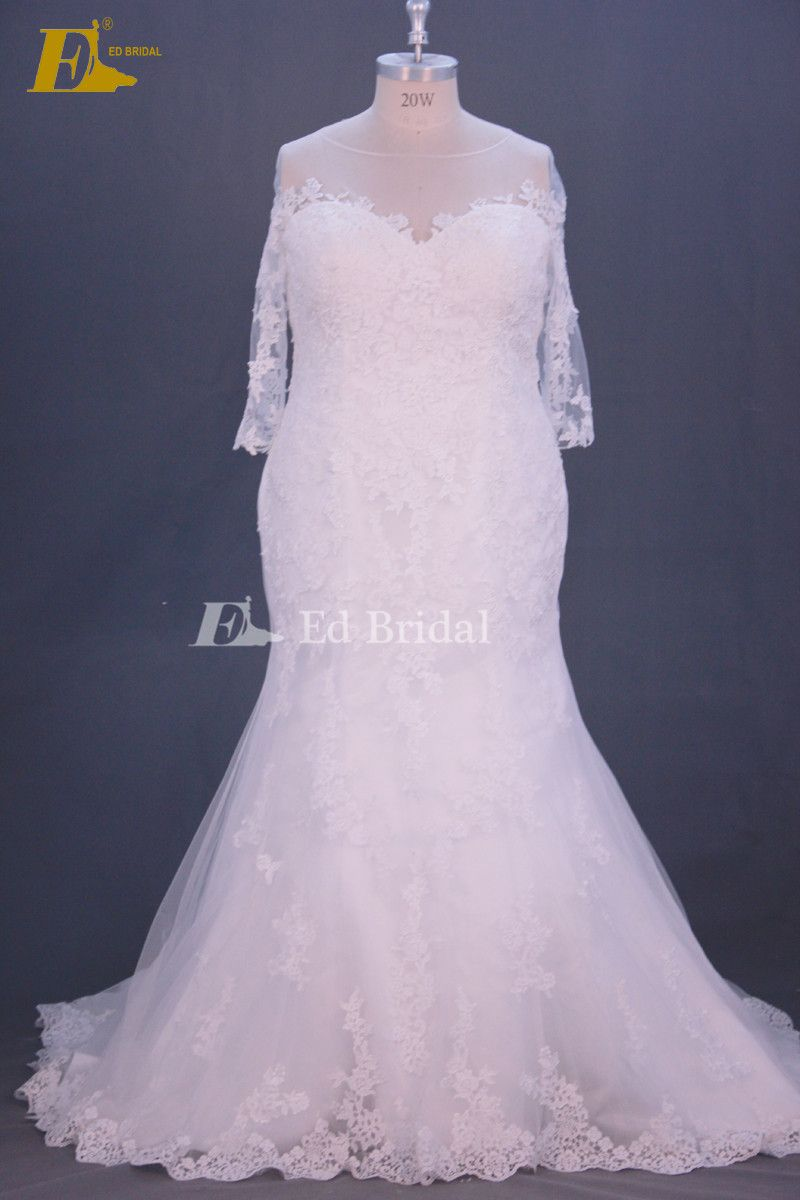Plus Size Wedding Dress Real Sample Whats 008615152463038