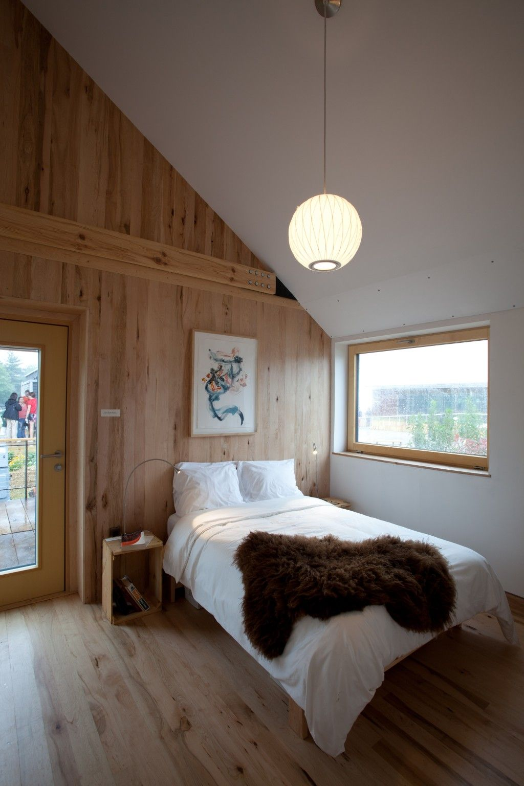 Contemporary Wood Wall Paneling Inspiration For Bedroom