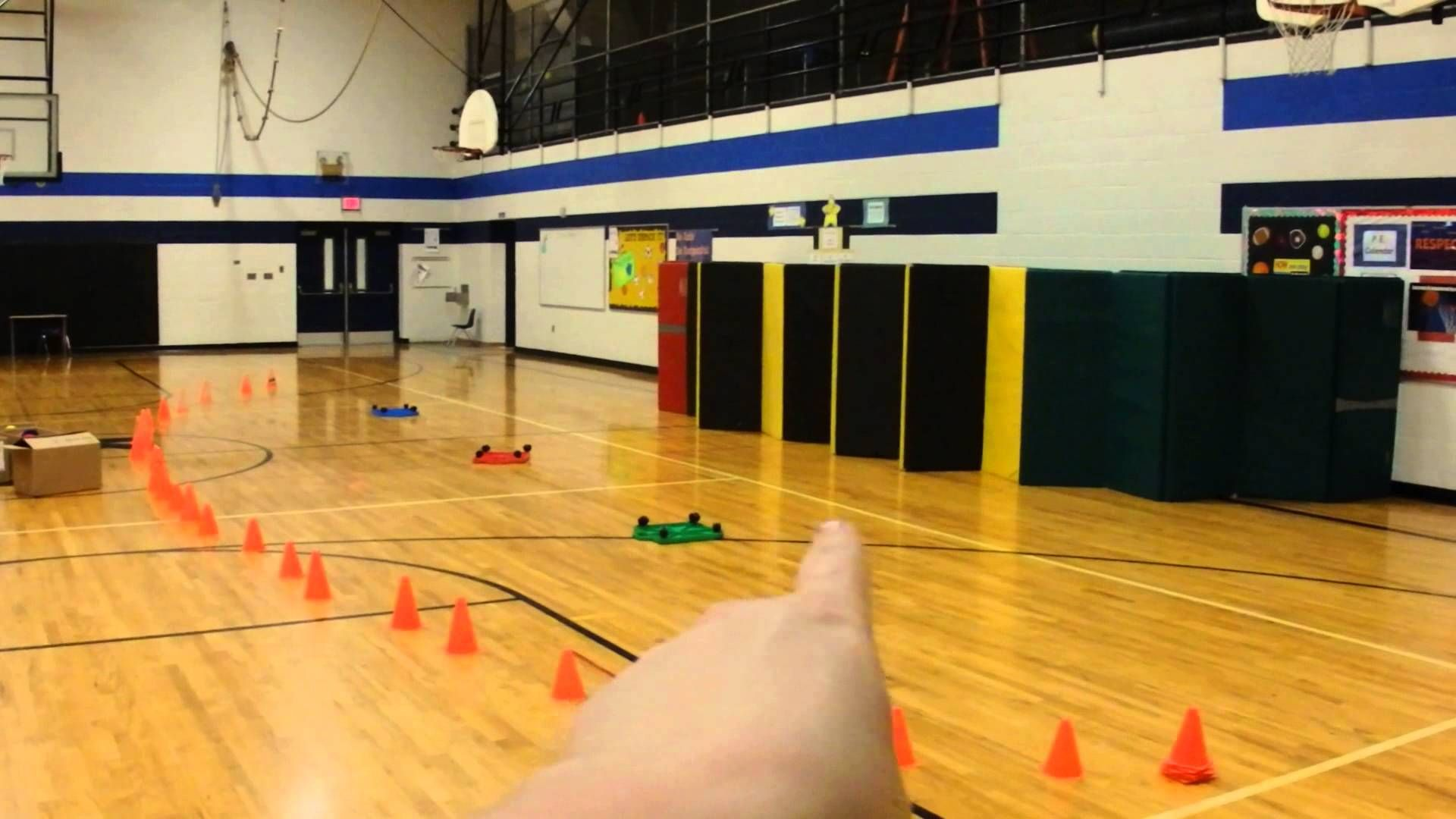 Throwing Game Star Wars Elementary PE Elementary pe