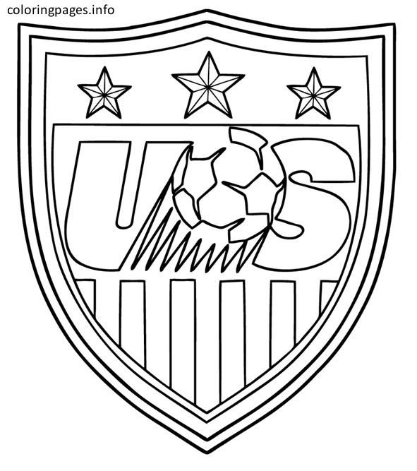 Usa Soccer Coloring Pages Usa Soccer Coloring Pages Coloringpages Coloring Coloringbook Colouring Freecolor Coloring Pages Usa Soccer Free Coloring Pages