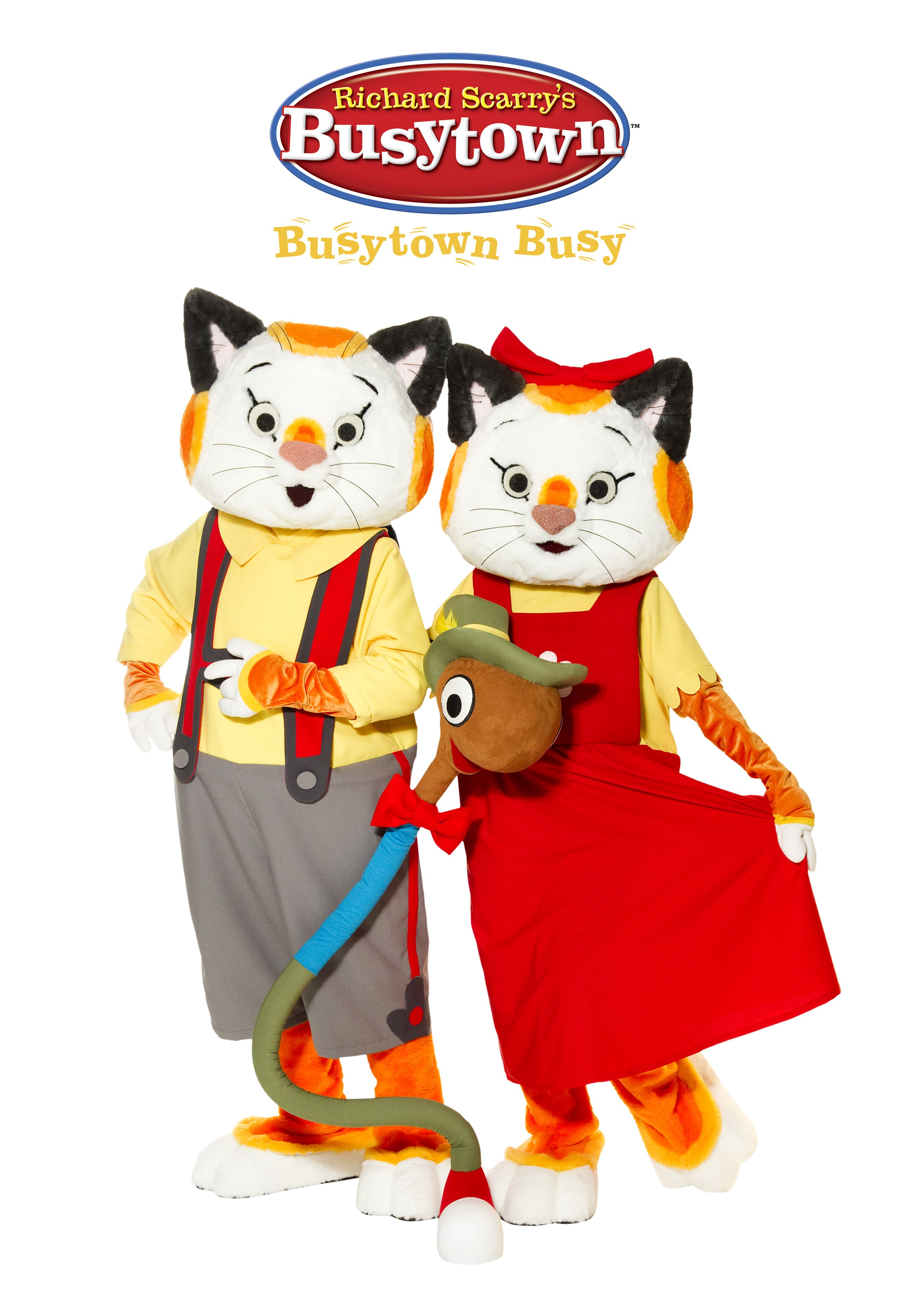 RichardScarry Busytown Live KobaEntertainment Cats