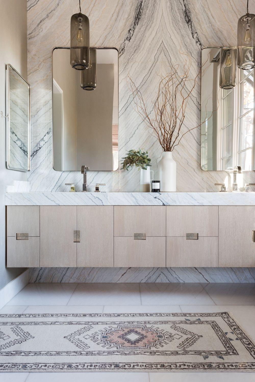 Zehra Rug | Modern master bathroom, Bathroom design ...